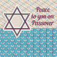 Peace To You On Passover.