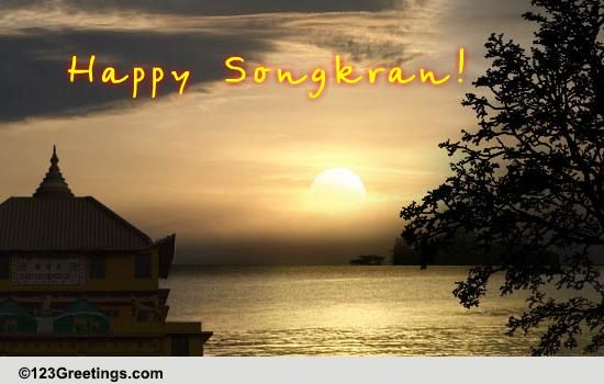 happy songkran  free songkran  thailand  ecards  greeting