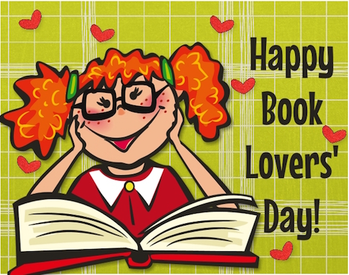 Happy Book Lovers' Day!