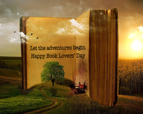 Incredible The Beginning Of An Adventure Free Book Lovers Day Personalised Birthday Cards Veneteletsinfo