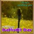 A Daffodil Wish Ecard.