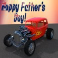 Father's Day Hot Rod Car.