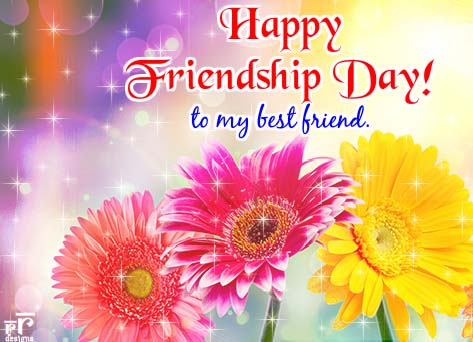 Happy Friendship Day To U. Free Flowers eCards, Greeting Cards | 123 Greetings