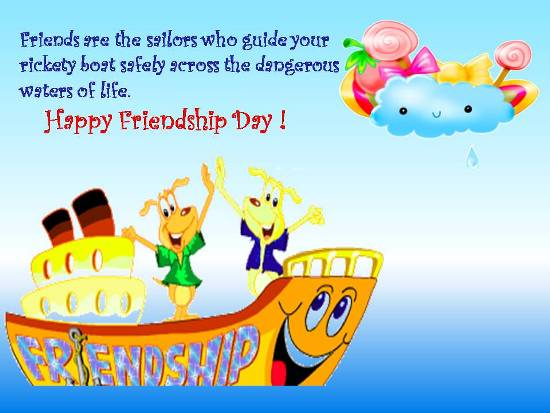 Celebrate Friendship Day.