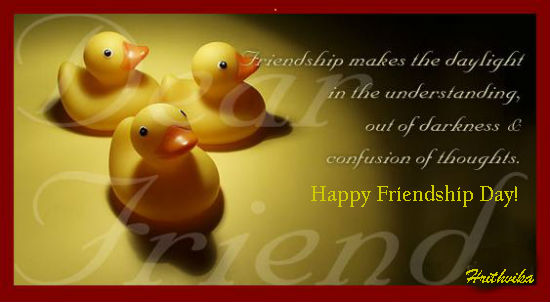 Friendship Makes The Day...