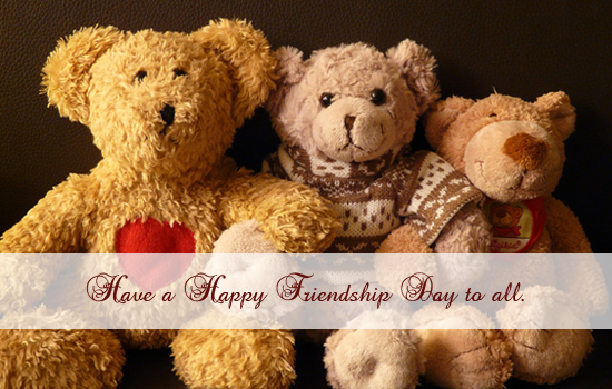 Have A Happy Friendhsip Day...
