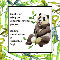 Home : Events : Friendship Day 2019 [Aug 4] : Thank You - Thanks Friend With Panda Bear Greeting Cards.