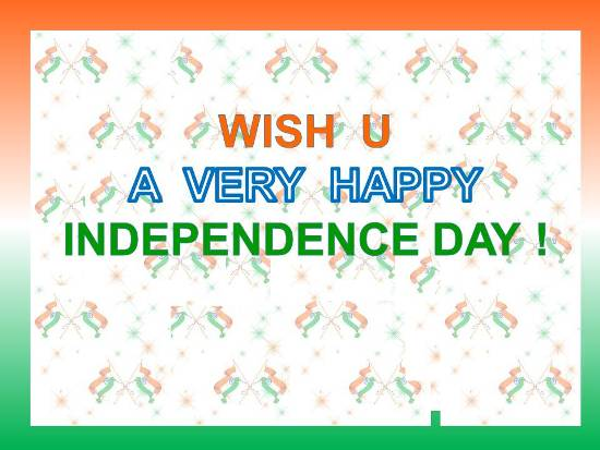 Greetings On Independence Day.