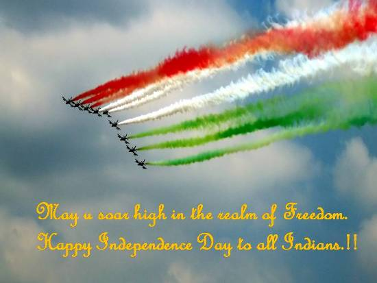 Wishes On Independence Day.
