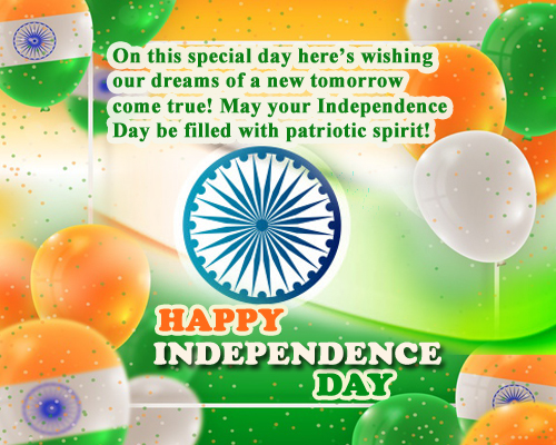 Happy Independence Day To Everyone.