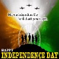 Home : Events : Independence Day (India) 2020 [Aug 15] - My Independence Day Ecard For You.