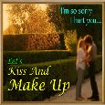 Kiss And Make Up Day Ecard For You.