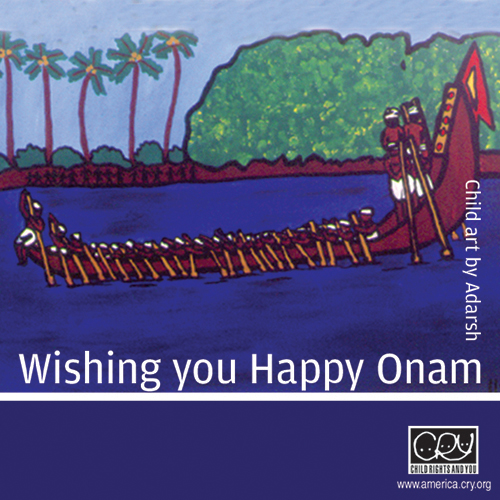 Happy Onam To You!