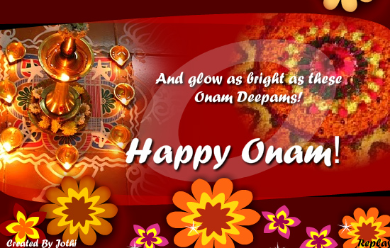 warm onam wishes free onam ecards greeting cards 123 greetings
