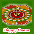 Good Fortune And Love On Onam.