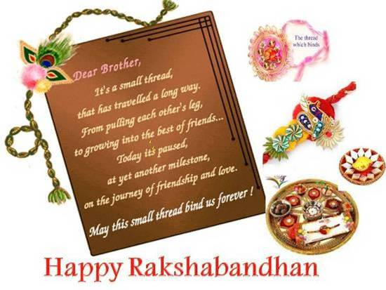 Wish Your Dear Brother On Rakhi.