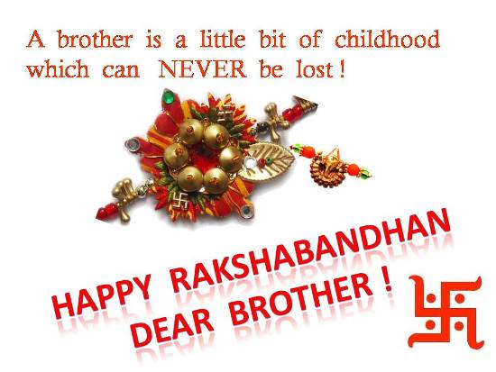Greet Your Brother On Raksha Bandhan.