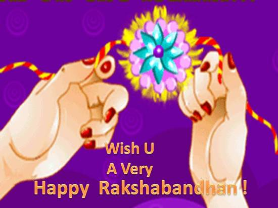 Warm Greetings On Rakshabandhan.