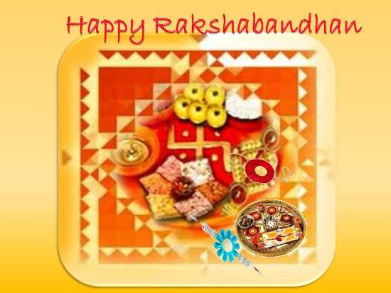 Greet Your Dear Brother On Rakhi.