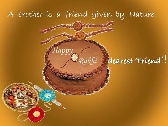 Greet Your Loving Brother On Rakhi.