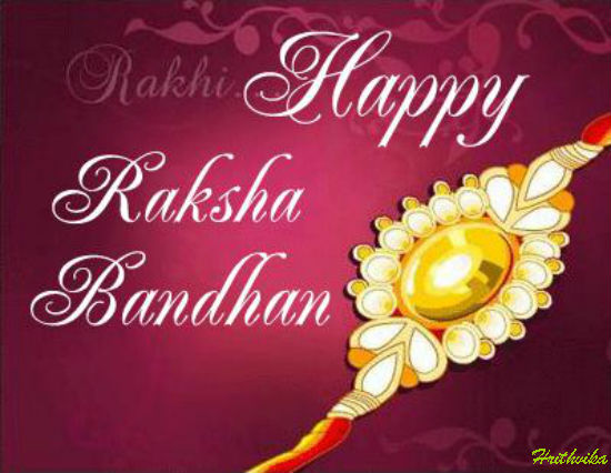 Happy Rakhi My Brother.