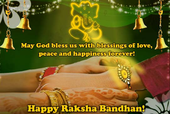 May God Bless This Precious Bond Free Happy Raksha