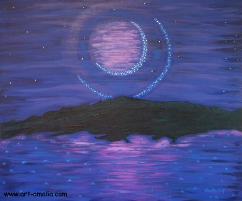 Misty Moon.