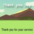 Thank You Day, For Your Service.