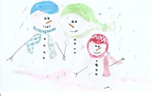 Snowmen Family.