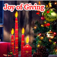 The Joy Of Giving With Loved Ones.