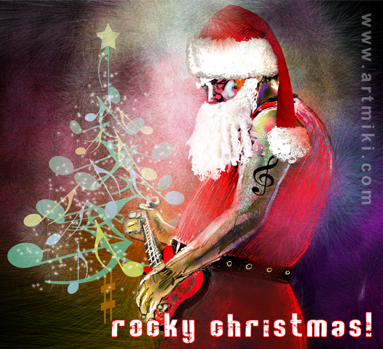 Rocky Christmas.