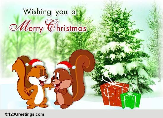 Christmas Wishes For A Friend! Free Friends eCards, Greeting Cards ...