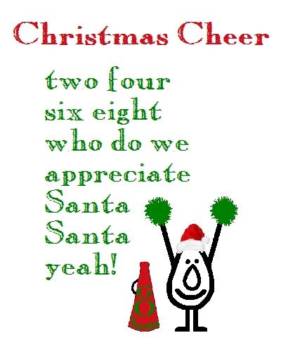 Christmas Cheer. Funny Christmas Poem.