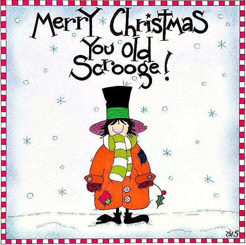 Scrooge!!!