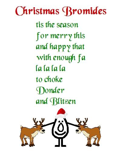 Christmas Bromides - A Christmas Poem.