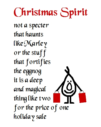 Christmas Spirit - A Christmas Poem.