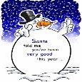 Funny Snowman Christmas.