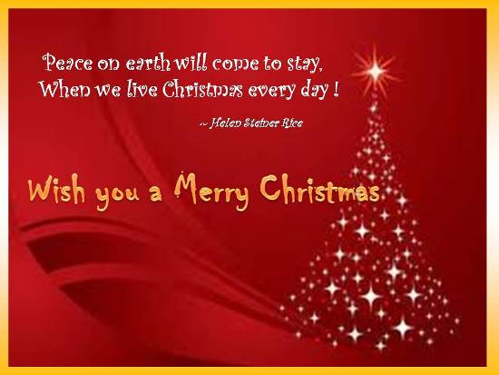 Merry Greetings For Joyful Christmas.