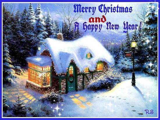 Christmas Greetings & Happy New Year. Free Good Tidings eCards | 123 ...