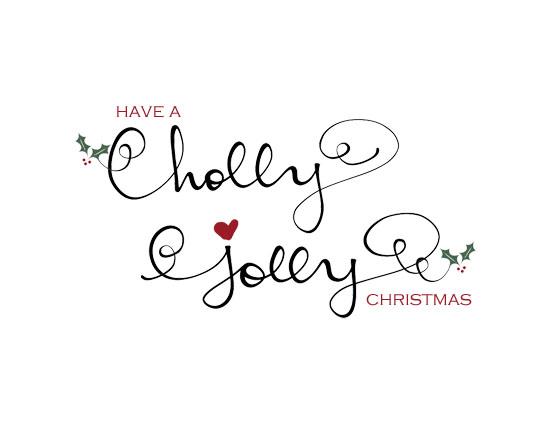 Holly Jolly Christmas Card...