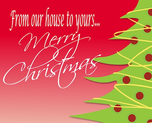 From Our House To Yours.
