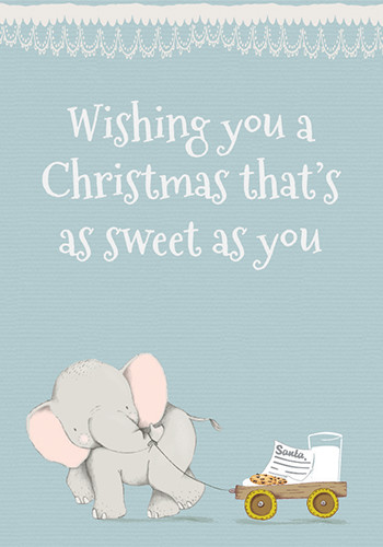 A Sweet Christmas.