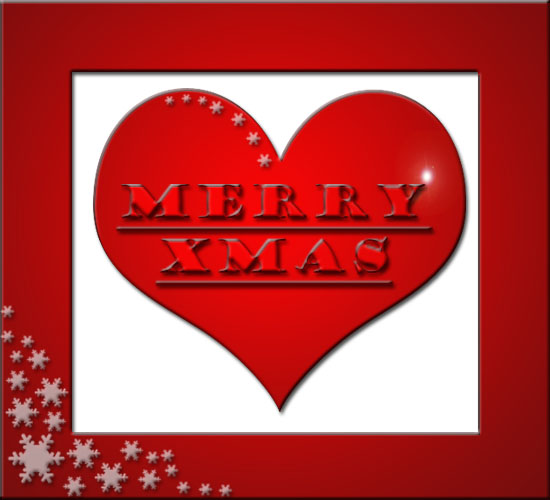 Merry Xmas With Love.