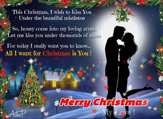 christmas hugs  u0026 mistletoe kisses  free love ecards  greeting cards