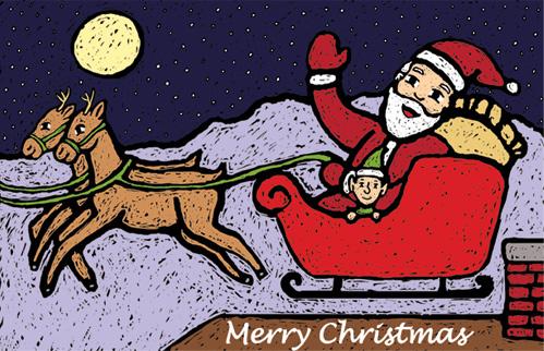 Santa's Flight.