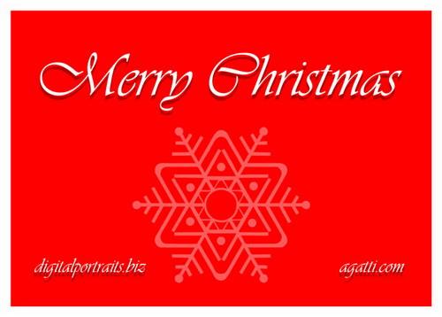 Merry Christmas Snowflake.