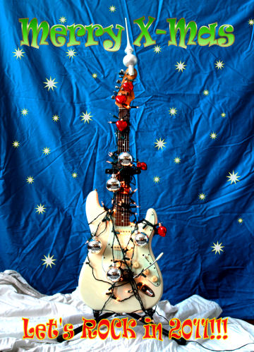 Christmas Stratocaster.