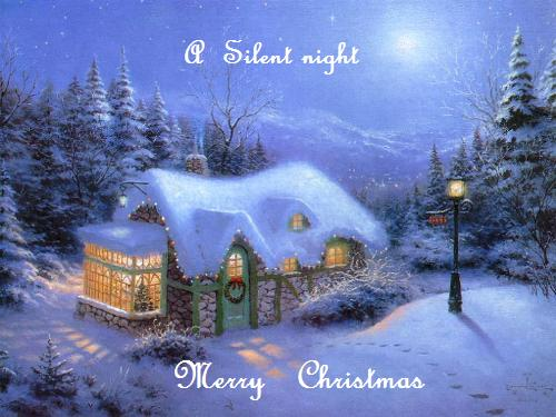 A Silent Night.