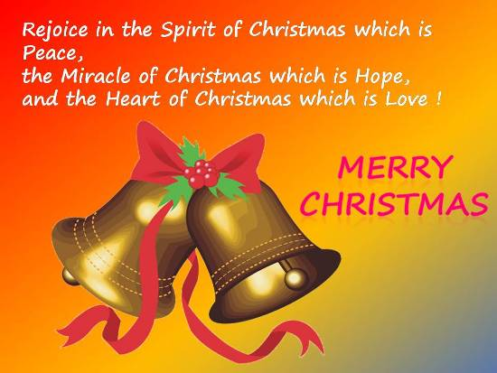 Merry Christmas To All...