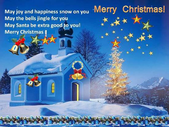 Wishes For A Happy Christmas.